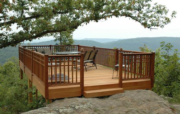 Terrasse bois pas cher vendée qualité, cloture terrasse bois chevaux